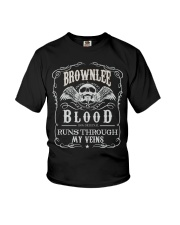 B-R-O-W-N-L-E-E Awesome Youth T-Shirt thumbnail