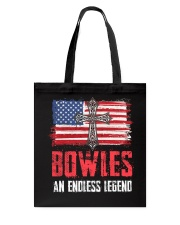 B-O-W-L-E-S Awesome Tote Bag thumbnail