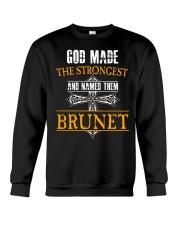 B-R-U-N-E-T Awesome Crewneck Sweatshirt thumbnail