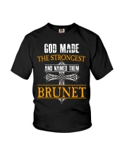 B-R-U-N-E-T Awesome Youth T-Shirt thumbnail