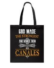 C-A-N-A-L-E-S Awesome Tote Bag thumbnail