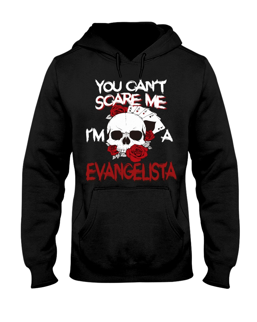 E-V-A-N-G-E-L-I-S-T-A Awesome Hooded Sweatshirt