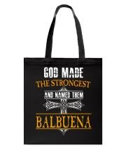 B-A-L-B-U-E-N-A Awesome Tote Bag thumbnail