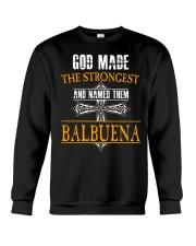 B-A-L-B-U-E-N-A Awesome Crewneck Sweatshirt thumbnail