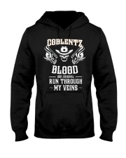 C-O-B-L-E-N-T-Z Awesome Hooded Sweatshirt front