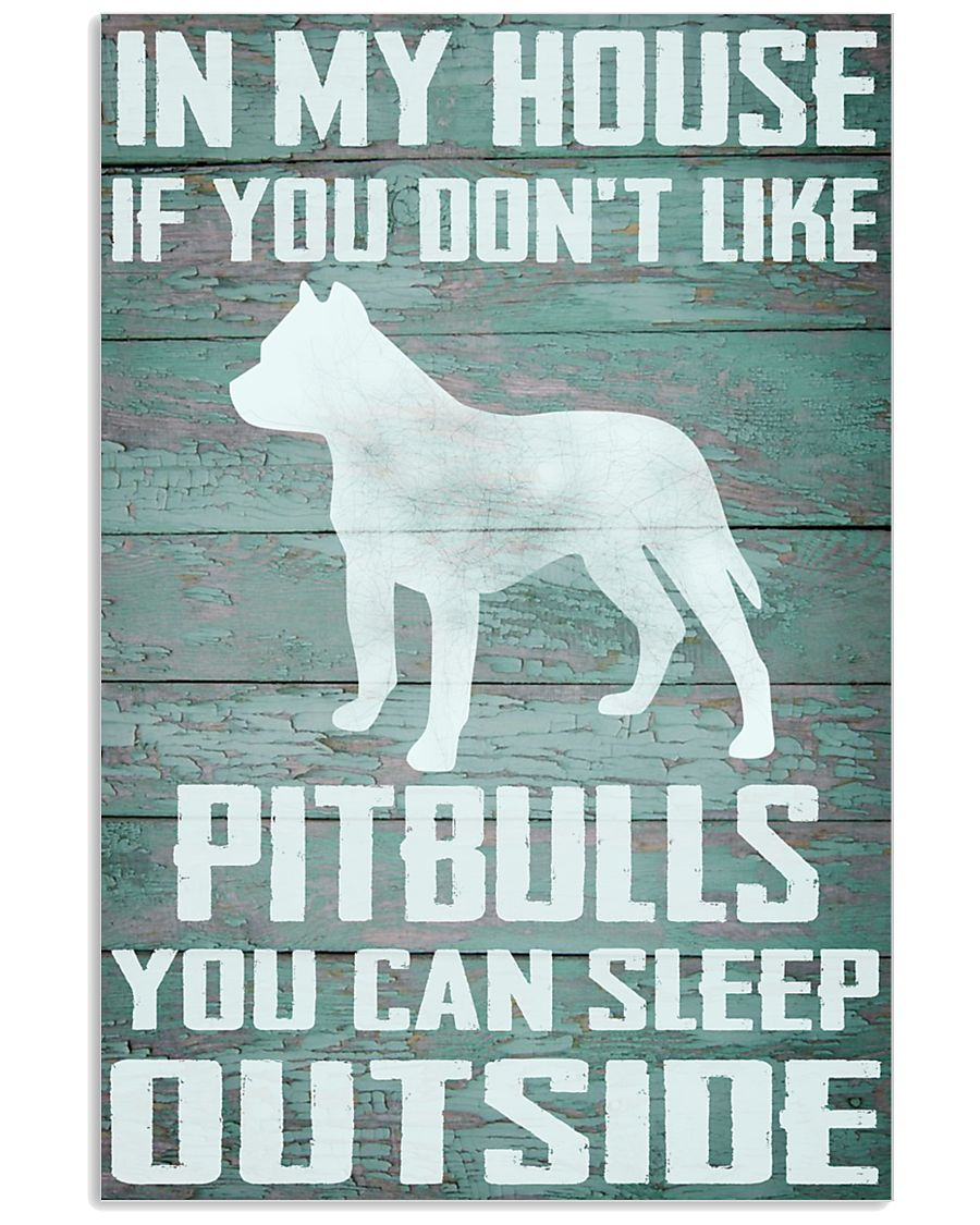 Pitbull dog funny 11x17 Poster