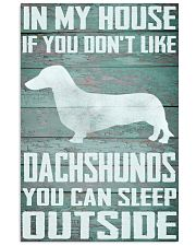 Dachshund dog funny 11x17 Poster front