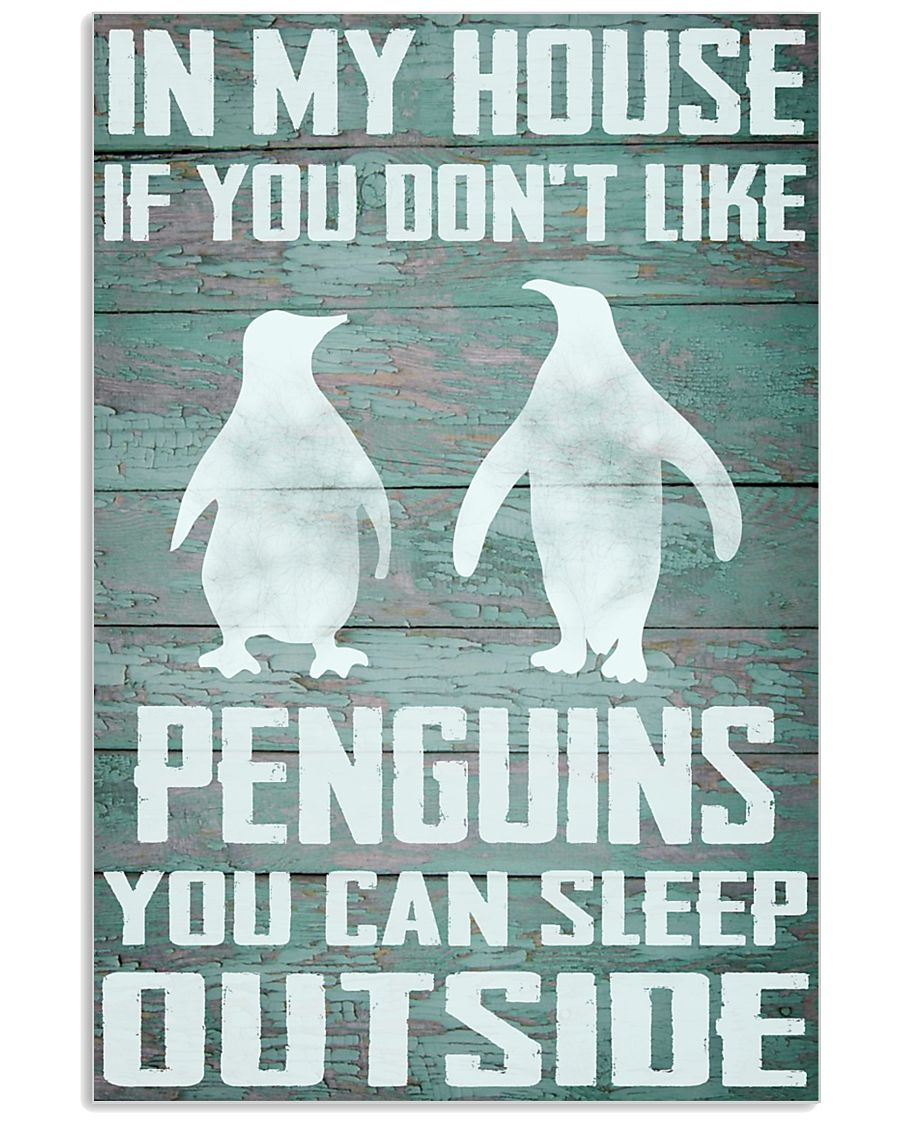 Penguins funny 11x17 Poster