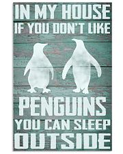 Penguins funny 11x17 Poster front