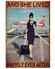 Flight Attendant And She Lived Happily poster 3 11x17 Poster front