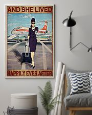 Flight Attendant And She Lived Happily poster 3 11x17 Poster lifestyle-poster-1