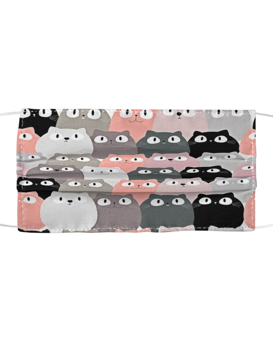 Cats cute cloth face mask Cloth face mask