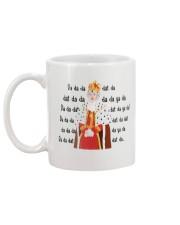 Hamilton king george chorus mug Mug back