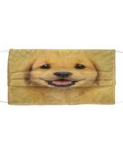 Golden Retriever Puppy Cloth Face Mask Cloth face mask front