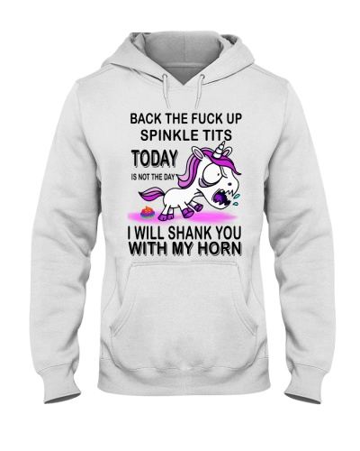 Unicorn Back the fuck up sprinkle tits today is