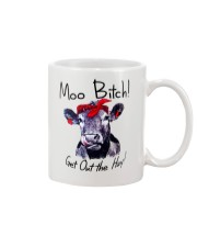 Moo Bitch Get Out the Hay Cow Heifer mug Mug front