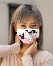 Mary poppins practically perfect in every way face Cloth face mask aos-face-mask-lifestyle-18