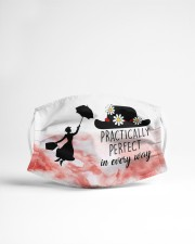 Mary poppins practically perfect in every way face Cloth face mask aos-face-mask-lifestyle-22