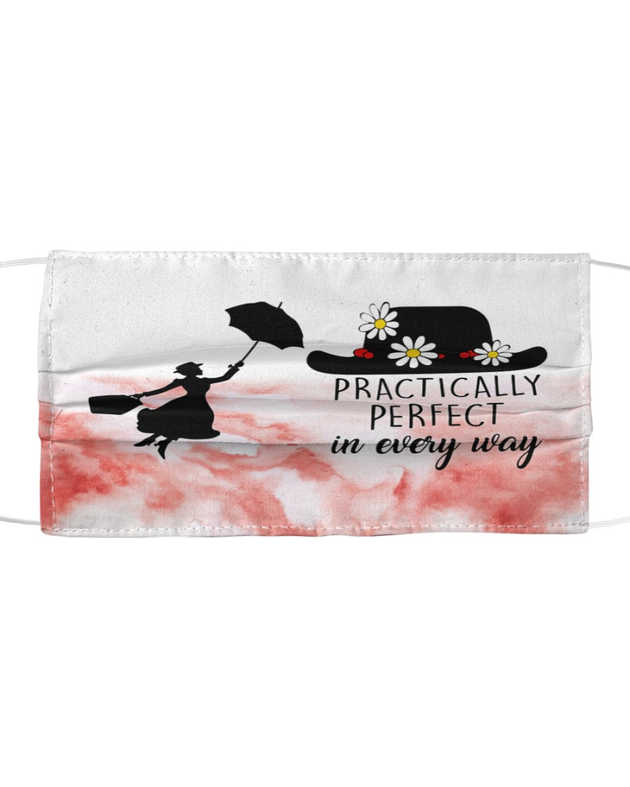 Mary poppins practically perfect in every way face Cloth face mask