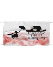 Mary poppins practically perfect in every way face Cloth face mask front