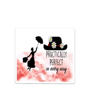Mary poppins practically perfect in every way face Sticker - Single (Horizontal) thumbnail