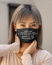 The one where we are sophomores season 20 Cloth face mask aos-face-mask-lifestyle-18