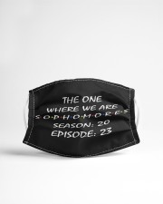 The one where we are sophomores season 20 Cloth face mask aos-face-mask-lifestyle-22