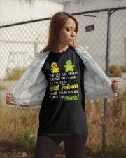 Turtles are green ducks go quack Classic T-Shirt apparel-classic-tshirt-lifestyle-07