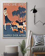 Dog And she lived happily ever after poster 11x17 Poster lifestyle-poster-1