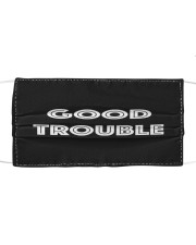 Good trouble face mask Cloth face mask front