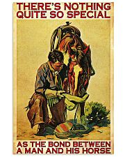 Horse there's nothing quite so special poster 11x17 Poster front