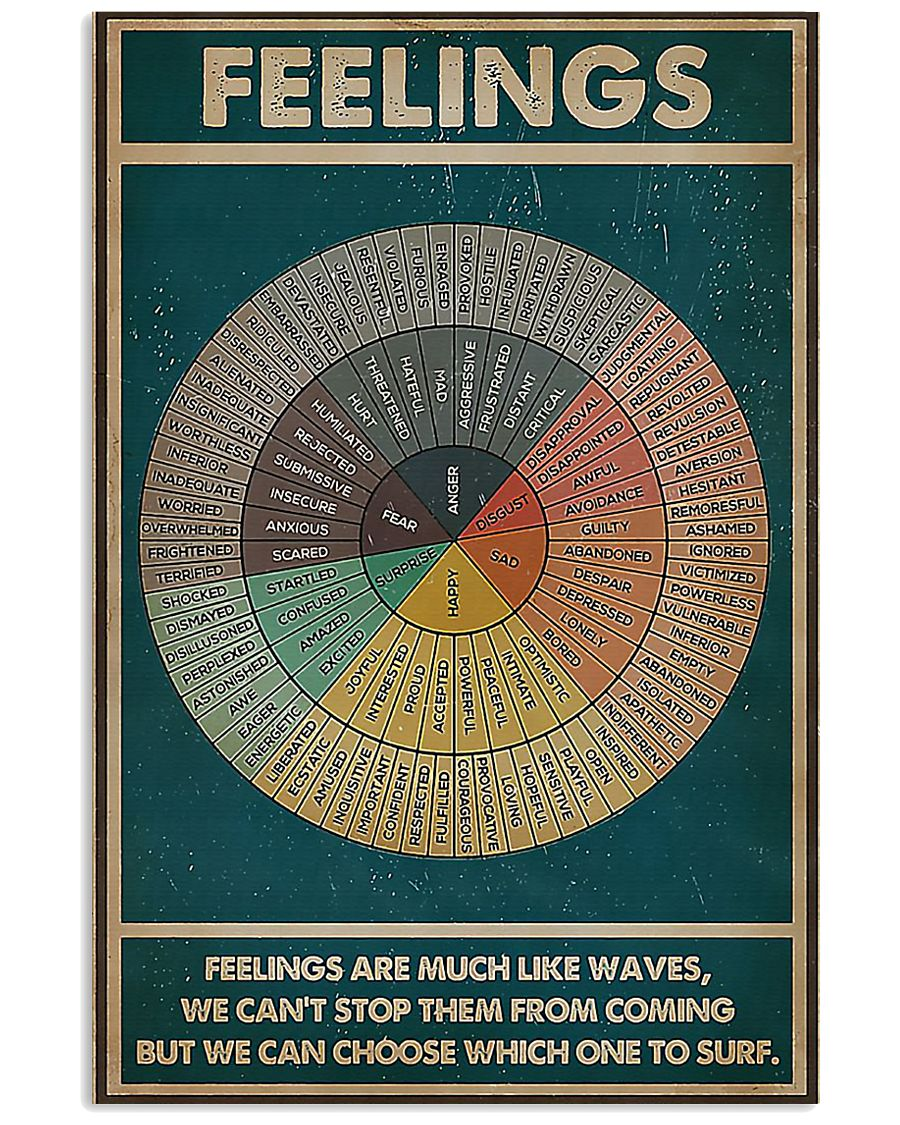 Social worker feelings feelings are much poster 11x17 Poster
