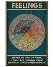 Social worker feelings feelings are much poster 11x17 Poster front