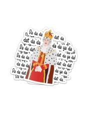 Hamilton king george da da da mug Sticker - 2 pack (Vertical) thumbnail