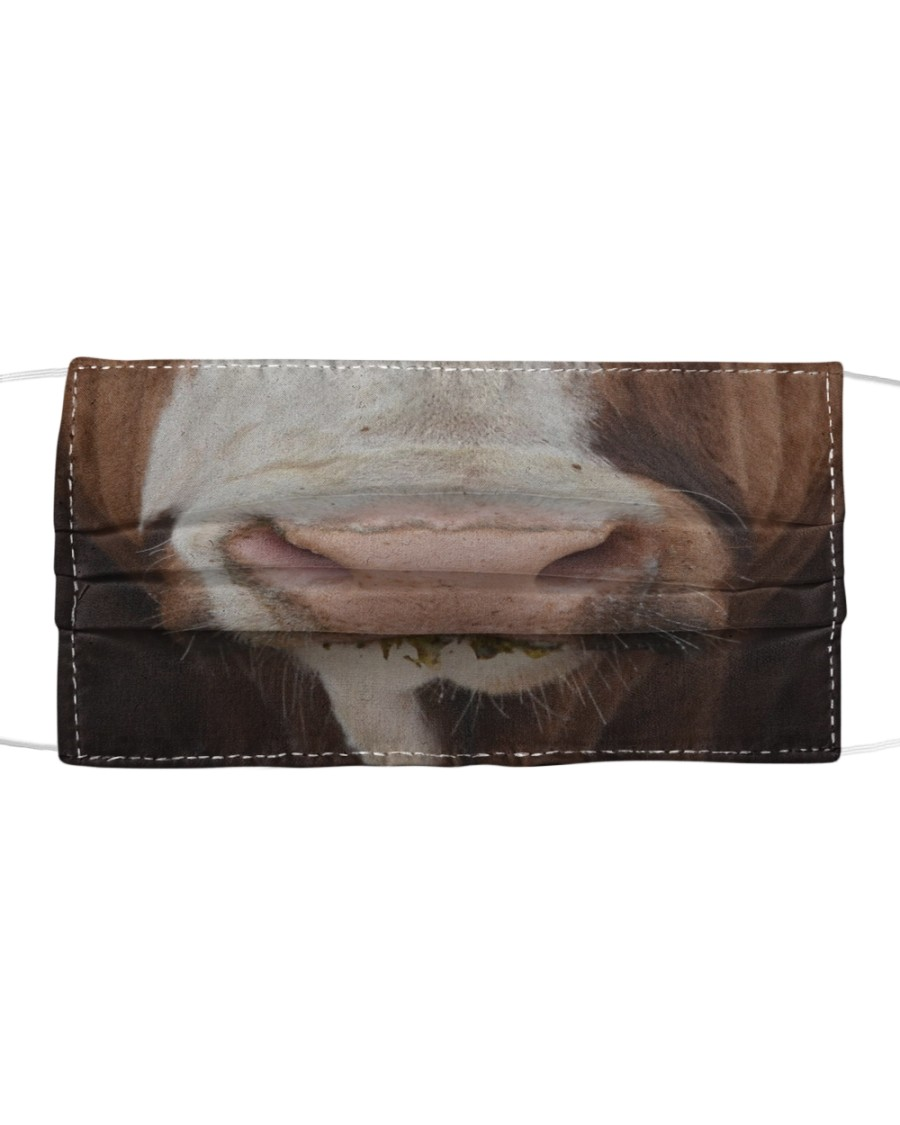 Simmental Cattle Cloth Face Mask Cloth face mask