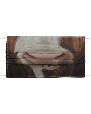 Simmental Cattle Cloth Face Mask Cloth face mask front