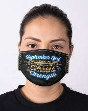 September girl i can do all things face mask Cloth Face Mask - 3 Pack aos-face-mask-lifestyle-01