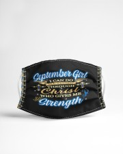 September girl i can do all things face mask Cloth Face Mask - 3 Pack aos-face-mask-lifestyle-22