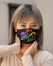 It's witches face mask Cloth face mask aos-face-mask-lifestyle-18