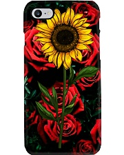 Sunflower and roses Phone Case i-phone-8-case