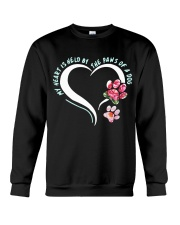 My heart is held by the paws of a dog Crewneck Sweatshirt thumbnail