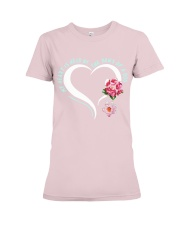 My heart is held by the paws of a dog Premium Fit Ladies Tee thumbnail