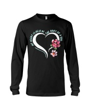 My heart is held by the paws of a dog Long Sleeve Tee thumbnail