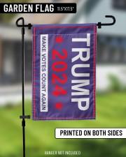 "Trump 2024 make votes count again flag  11.5""x17.5"" Garden Flag aos-garden-flag-11-5-x-17-5-lifestyle-front-11"