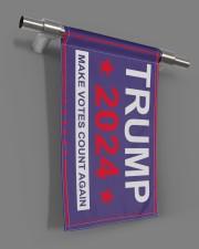 "Trump 2024 make votes count again flag  11.5""x17.5"" Garden Flag aos-garden-flag-11-5-x-17-5-lifestyle-front-18"