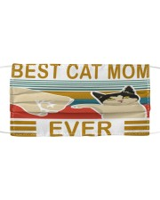 Best cat mom ever cloth face mask Cloth face mask front