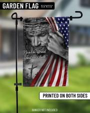 "Jesus Christian don't be afraid just have faith  11.5""x17.5"" Garden Flag aos-garden-flag-11-5-x-17-5-lifestyle-front-11"