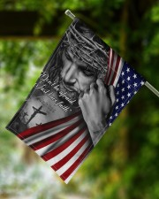 "Jesus Christian don't be afraid just have faith  11.5""x17.5"" Garden Flag aos-garden-flag-11-5-x-17-5-lifestyle-front-15"