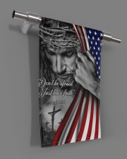 "Jesus Christian don't be afraid just have faith  11.5""x17.5"" Garden Flag aos-garden-flag-11-5-x-17-5-lifestyle-front-18"