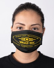 Tested and approved by vault-tec face mask Cloth Face Mask - 3 Pack aos-face-mask-lifestyle-01